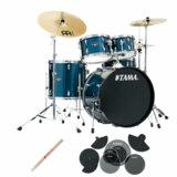 TAMA / IE52KH6HC-HLB IMPERIALSTAR ドラムセット 22BD スタンダードサイズ サイレントパック  商品画像