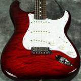 Fender / ISHIBASHI FSR Made in Japan Hybrid II Stratocaster Rosewood Transparent Red Burst [SN JD21015748] 商品画像