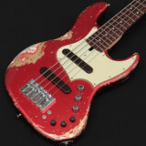 Xotic /XJ-1T 5st Candy Apple Red over Fiesta Red Heavy Aged Alder/R MH 2246 商品画像