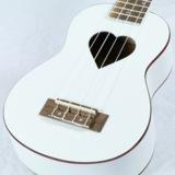 SELVA / SUKS-100 HEART White Limited 【ギグバッグつき!】【ハート型サウンドホール】 セルバ ソプラノ ウクレレ 入門 初心者 SUKS100 商品画像