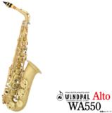 WINDPAL / 《60ヵ月保証》アルトサックス WA550 Satin Lacquer ウインドパル 商品画像