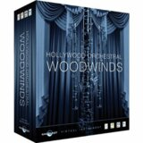 EAST WEST / EW-206 Hollywood Orchestral Woodwinds Gold Edition Win/Mac版 木管楽器音源 【箱汚れ特価】【SALE2020】 商品画像