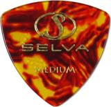 Selva / Rubber Grip Pick オニギリ Medium(0.75mm) Shell 材質:セルロース 色:シェル (ラバー滑り止め付) 商品画像