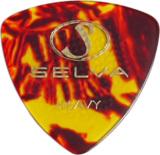 Selva / Rubber Grip Pick オニギリ Heavy(1.00mm) Shell 材質:セルロース 色:シェル (ラバー滑り止め付) 商品画像