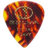 Selva / Rubber Grip Pick Tear Drop Extra Heavy Shell 材質:セルロース 色:シェル (ラバー滑り止め付) 商品画像