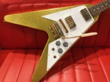Gibson Custom Shop / 1967 Flying V Short Maestro VOS Gold Sparkle 商品画像