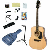 Epiphone / DR-100 NA(Natural) 【アコースティックギター入門14点セット】 エピフォン アコギ フォークギター 初心者 DR100 商品画像