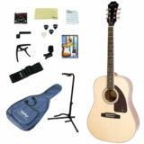 Epiphone / AJ-220S NA(Natural) 【アコースティックギター入門14点セット】【単板Top】 エピフォン アコギ フォークギター 初心者 AJ220S 商品画像