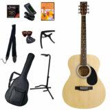Sepia Crue / FG10/N(ナチュラル) (アコースティックギター11点入門セット) セピアクルー  フォークギター アコギ 入門 初心者 FG-10 商品画像