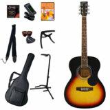 Sepia Crue / FG10/VS(Vintage Sunburst) 【アコースティックギター11点入門セット】 セピアクルーフォークギター アコギ 入門 初心者 FG-10 商品画像