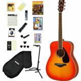 YAMAHA / FG820 AB (オータムバースト)(オールヒット曲歌本17点入門セット) ヤマハ アコースティックギター アコギ FG-820 入門 初心者 商品画像
