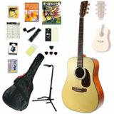 アコースティックギター SX Guitars / SD304 NAT(ナチュラル) 【オールヒット曲歌本16点入門セット】【楽譜が付いたお買い得セット】  商品画像