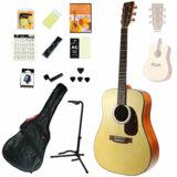 SX Guitars / SD304 NAT(ナチュラル) (アコースティックギター14点入門セット!) フォークギター アコギ SD-304 入門 初心者 商品画像