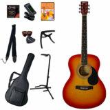 Sepia Crue / FG10/CH (Cherry Sunburst) 【アコースティックギター11点入門セット】 セピアクルーフォークギター アコギ 入門 初心者 FG-10 商品画像