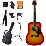 Sepia Crue / WG10/CS(Cherry Sunburst) 【アコースティックギター11点入門セット】 セピアクルーフォークギター アコギ 入門 初心者 WG-10 商品画像