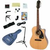 Epiphone / AJ-100CE NA (Natural) 【アコースティックギター入門15点セット】【ピックアップ搭載】 エピフォン アコギ フォークギター エレアコ 初心者 AJ100CE 商品画像