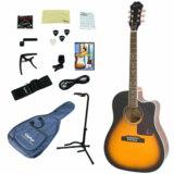 Epiphone / AJ-220SCE VS (Vintage Sunburst) 【アコースティックギター入門15点セット】【プリアンプ搭載】 エピフォン アコギ 商品画像