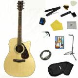 YAMAHA / FX370C NT(ナチュラル) 【入門エレアコ/スタンダードセット】 ヤマハ エレクトリックアコースティックギター FX-370C 商品画像