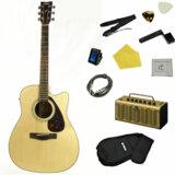 YAMAHA / FX370C NT(ナチュラル) 【入門エレアコ/THR5Aアンプシンプルセット】 ヤマハ エレクトリックアコースティックギター FX-370C 商品画像