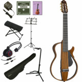 YAMAHA / SLG200NW 【充実のアクセサリーつき12点セット】 ヤマハ サイレントギター クラシックギター エレガット ナイロン弦仕様 SLG-200NW 商品画像