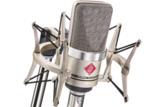 NEUMANN / TLM 102 studio set ラージダイアフラムマイク(カーディオイド、ニッケル色)EA4【国内正規品保証3年付き】 商品画像