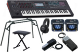Roland ローランド / FANTOM-6【コンプリートセット!】61鍵盤 MUSIC WORKSTATION 商品画像