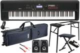 KORG コルグ / KROSS2-88 MB (スーパー・マット・ブラック)【キーボード椅子&スピーカーセット!】88鍵盤 オール・イン・ワンシンセサイザー 商品画像