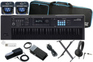 Roland ローランド / JUNO-DS61B【数量限定 スタートセット!】ブラック鍵盤モデル (JUNO-DS) 商品画像