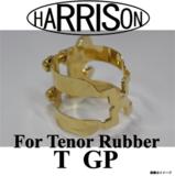 Harrison / TGP ハリソン リガチャー テナーサックス ラバーマウスピース用 金メッキ仕上 商品画像