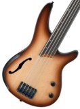 Ibanez / Bass Work Shop Series SRH505F Natural Browned Burst Flat (NNF) アイバニーズ【ご予約商品】 商品画像