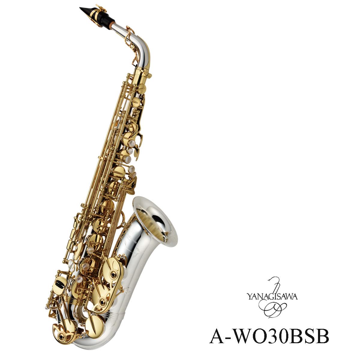 Yanagisawa / A-WO30BSB ヤナギサワ アルトサックス 数量限定《ZEN-ON90周年記念モデル》《予約注文/10月22日発売》
