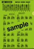 FAIRY / ギターコード ホルダー【グリーン】《コード表入り クリアファイル》 商品画像