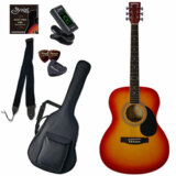 Sepia Crue / FG10/CH(Cherry Sunburst) 【シンプル8点入門セット】 セピアクルー アコースティックギター フォークギター アコギ 入門 初心者 FG-10 (/+811185200) 商品画像