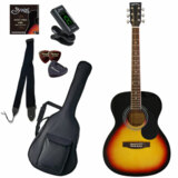 Sepia Crue / FG10/VS(Vintage Sunburst) 【シンプル8点入門セット】 セピアクルー アコースティックギター フォークギター アコギ 入門 初心者 FG-10 (/+811185200) 商品画像