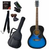 Sepia Crue / FG10/BLS(Blue Sunburst) 【シンプル8点入門セット】 セピアクルー アコースティックギター フォークギター アコギ 入門 初心者 FG-10 (/+811185200) 商品画像