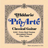 D'Addario / Classic Guitar Pro-Arte Laser Selected Nylon Trebles EJ44 Extra Hard Tension 29-45 クラシックギター弦 商品画像