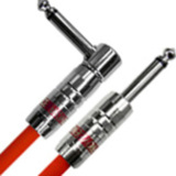 Providence / Light Edition Silver Link Guitar Cable LE501 5.0m SL Red 商品画像