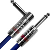 Providence / Light Edition Silver Link Guitar Cable LE501 3.0m SL Blue 商品画像