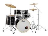 Pearl / ドラムセット EXX725S/C #31 Jet Black パール シンバル付ドラムフルセット (スタンダードサイズ) 商品画像