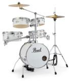 Pearl / 小型 ドラムセット RT-645N/C 33-ピュアホワイト パール リズムトラベラー Version 3S 商品画像
