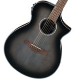 Ibanez / AEWC11-TCB (Transparent Charcoal Burst) 【海外モデルイシバシ独占入荷】 アイバニーズ アコースティックギター エレアコ アコギ 商品画像