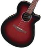 Ibanez / AEG50-DRH (Deep Red Burst High Gloss) アイバニーズ エレアコ アコースティックギター 商品画像