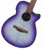 Ibanez / AEG70-PIH (Purple Iris Burst High Gloss)  アイバニーズ アコースティックギター エレアコ アコギ AEG70 商品画像