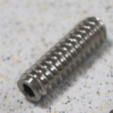 """Montreux / Saddle height screws 5/16"""" inch Stainless (12) (0482) 弦高調整用イモネジ モントルー 商品画像"""