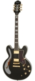 Epiphone / Sheraton II Pro Ebony  エピフォン エレキギター セミアコ シェラトン 商品画像