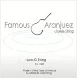 Famous Aranjuez / Ukulele Low-G Single .028 バラ弦 【お取寄せ商品】 商品画像