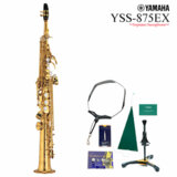 YAMAHA / YSS-875EX ヤマハ ソプラノサックス カスタム デタッチャブルネック ラッカー仕上 《6大特典セット付》 商品画像
