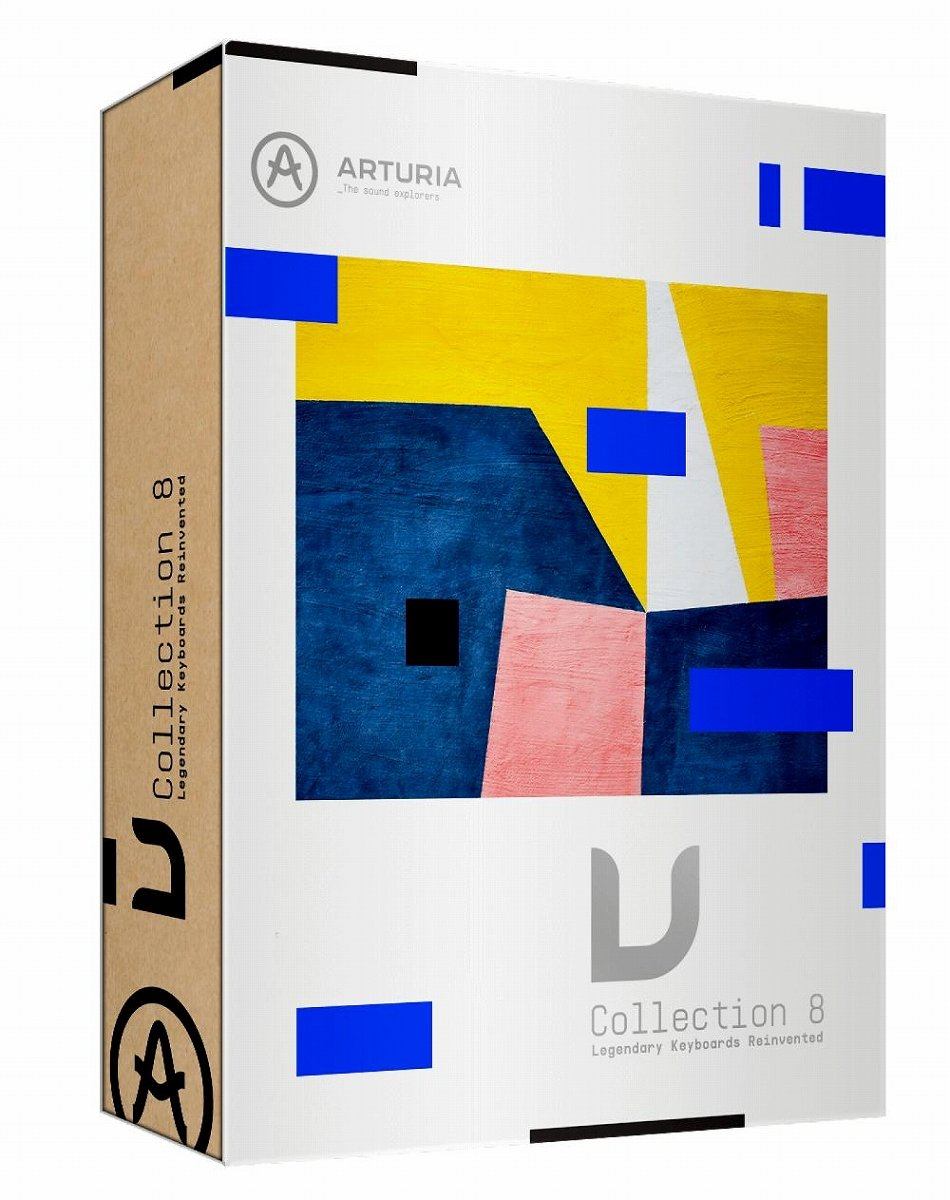 Arturia アートリア / V Collection 8 Package版
