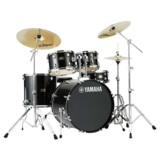 YAMAHA / RDP2F5STD BLGブラックグリッター ヤマハ ライディーン ドラムセット ジルジャンシンバル付きフルセット 22BD スタンダードサイズ 商品画像