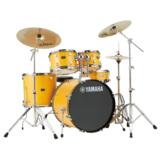 YAMAHA / RDP2F5STD YLメローイエロー ヤマハ ライディーン ドラムセット ジルジャンシンバル付きフルセット 22BD スタンダードサイズ 商品画像